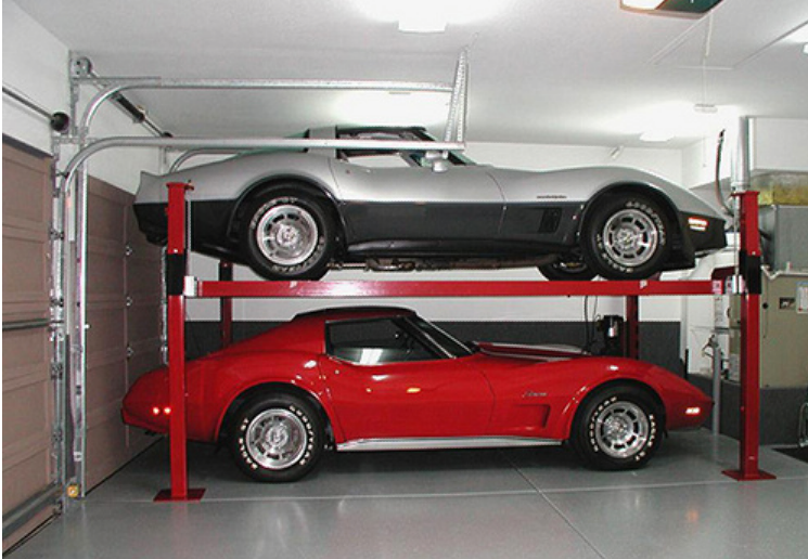 Owens Laing Llc Car Lift Garage Addition