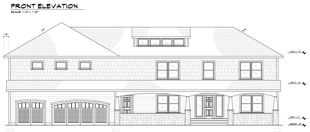 Sample Of Front Elevation : Elevation drawings pictures to pin on pinterest daddy