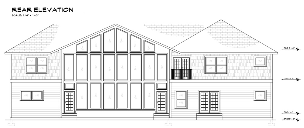 Sample Construction Plans - Remodel or New - Elevations