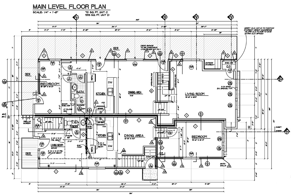 Construction floor plan images for Sample house floor plan drawings