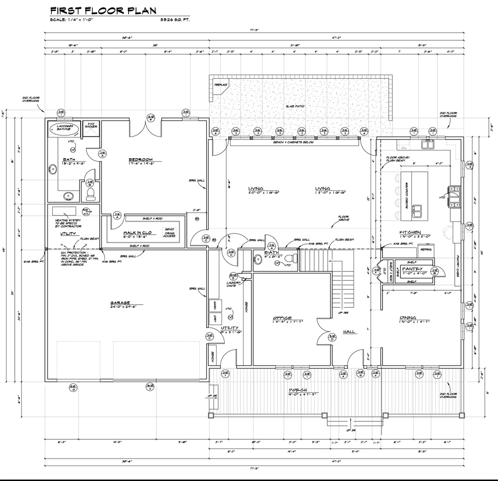 Construction floor plan images for Sample building plans