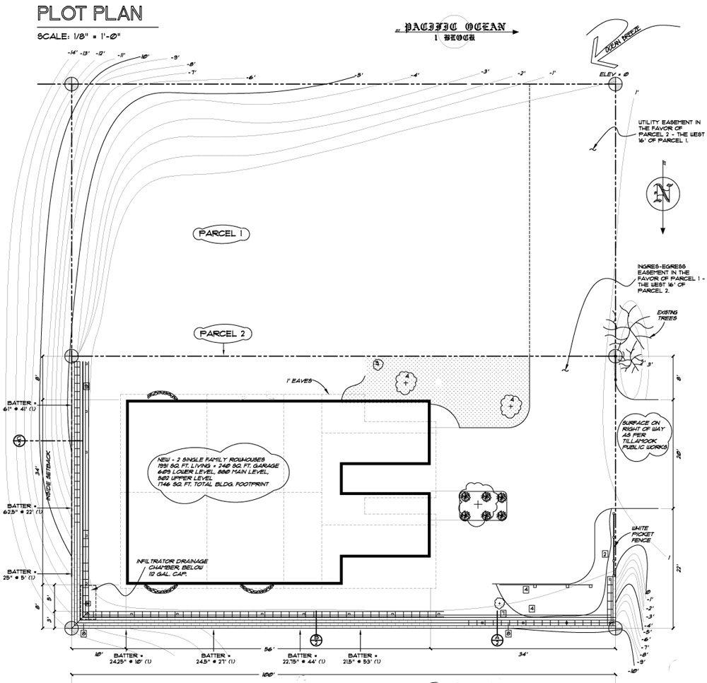owens laing llc sample plot plan drawing